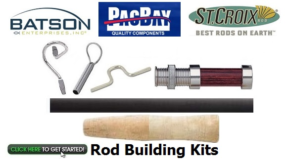 Rod building angler 39 s workshop the leaders in rod for Fishing rod building kits