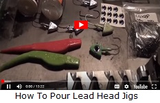 4711 Eagle Claw 635 - 90* Jig Hooks Sea-Guard (100pk)